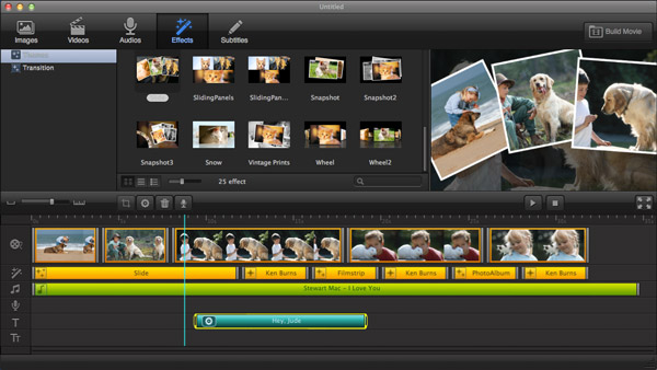 Intuitive Video-Editing Software for Mac. Made to Brighten Up Your Story.